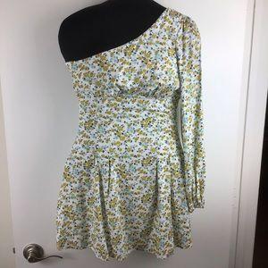 FREE PEOPLE Jules Floral Mini Dress NEW